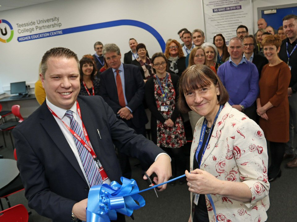 Darlington College and Teesside University open new learning centre