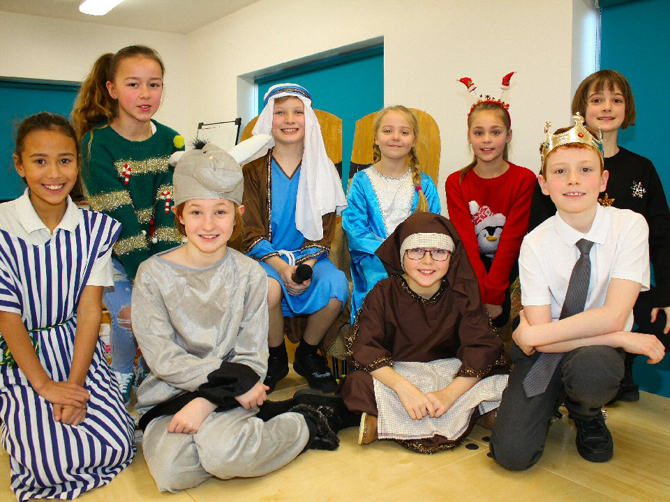 Year 5 and 6 pupils at Eldon Grove Academy host nativity play in poem and prose