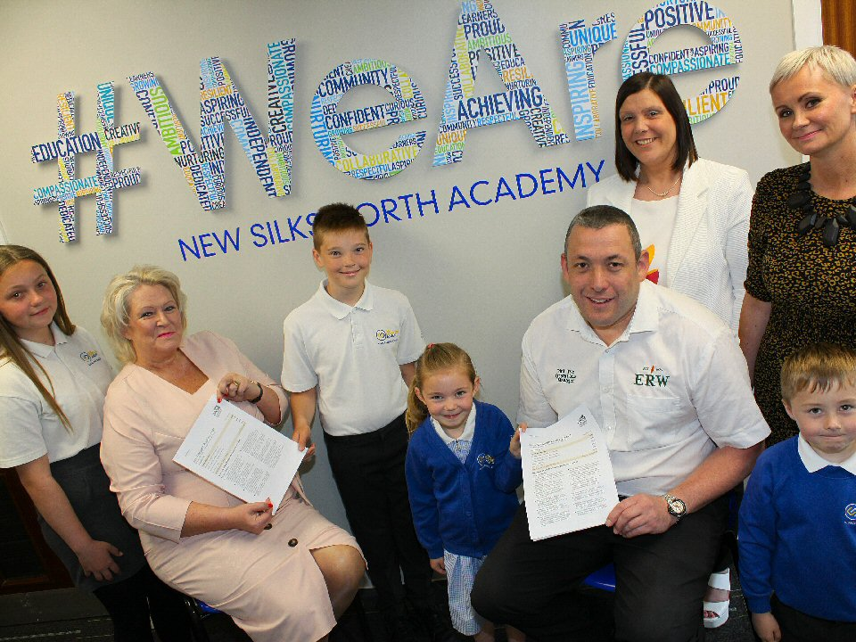New Silksworth Infant and Junior Academies receive 'Good' news
