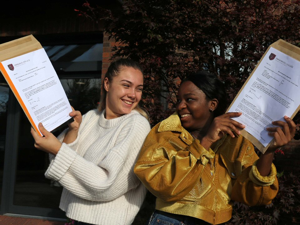 Emmanuel College students share outstanding A Level results