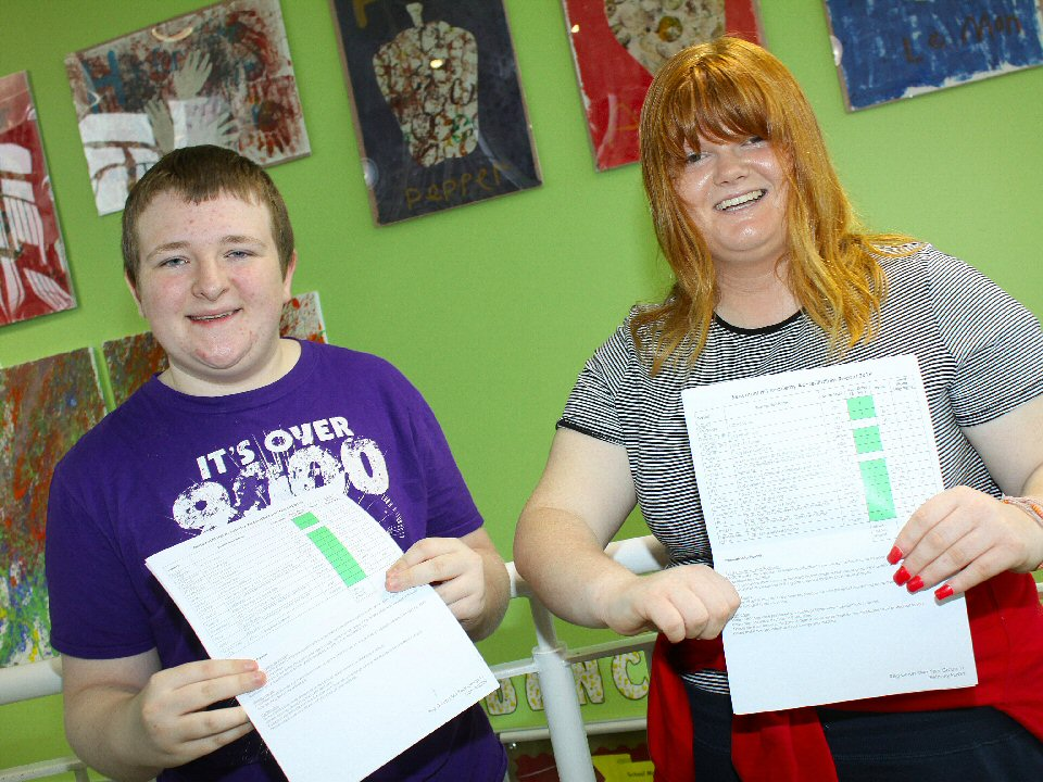School leavers achieve nationally recognised accreditations