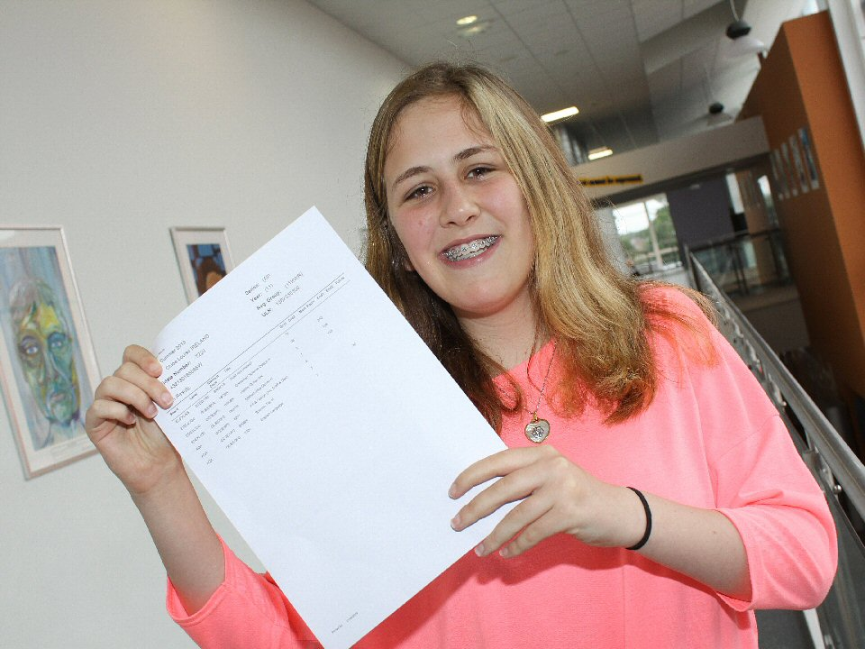 Haughton Academy pupil gains impressive marks after open heart surgery