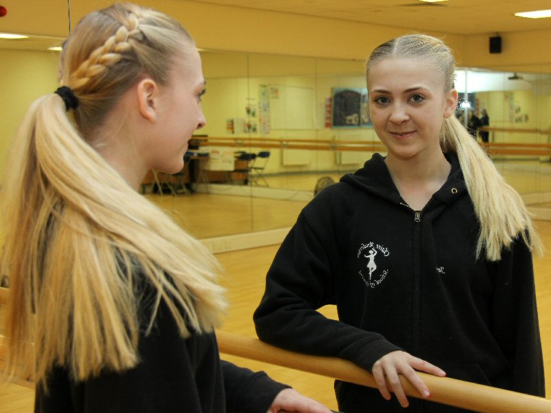 Dancer takes a step towards her chosen career