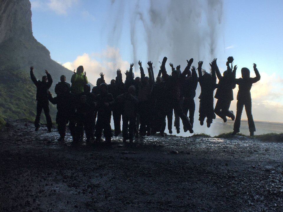 Pupils get to grips with glaciers and geysers