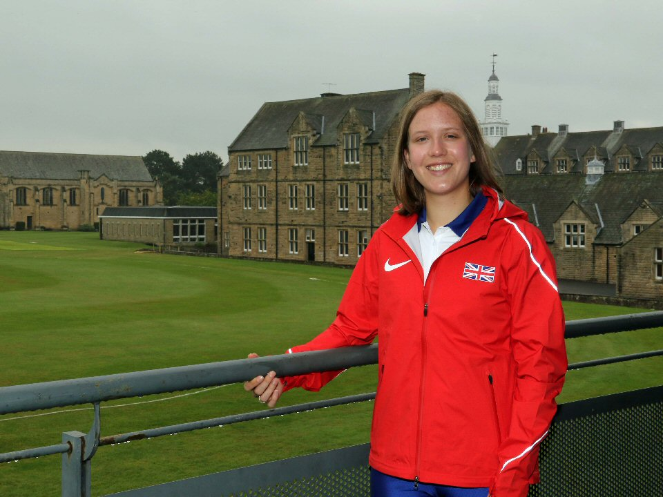 Barnard Castle School girl is selected to compete in world championships
